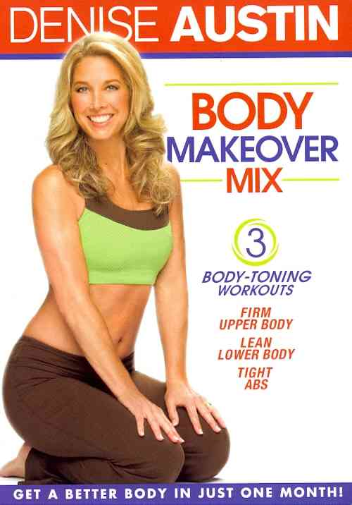 DENISE AUSTIN:BODY MAKEOVER MIX BY AUSTIN,DENISE (DVD)